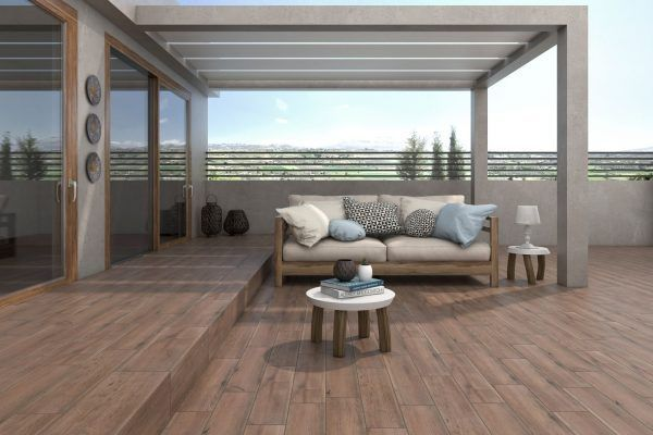 Forest exterior madera - Gres Aragon